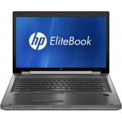 Laptop HP 8760w Workstation, Intel Core i7-2670QM 2.20GHz, 16GB DDR3, 240GB SSD, Full HD, Nvidia Quadro 3000M 2GB, Webcam, DVD-RW, 17.3 Inch, Second Hand Laptopuri Second Hand