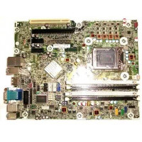 Placa de baza Socket 1155, HP model: SP 615114-001 pentru calculator HP 6200 pro MT Intel Q65 , DDR3, fara shield, second hand