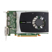 Placa Video nVidia Quadro 2000, 1GB DDR5, 128 bit, PCI-express, DVI, 2x Display Port, Componente Calculator