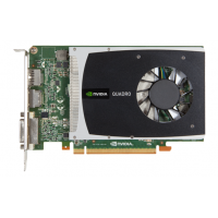 Placa Video nVidia Quadro 2000, 1GB DDR5, 128 bit, PCI-express, DVI, 2x Display Port