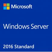 Windows Server Standard 2016 64Bit English/ OEI DVD, 16 Core Software
