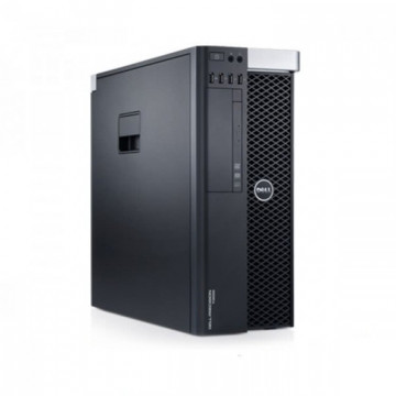 Workstation DELL Precision T3600, Intel Xeon Hexa Core E5-1650 3.20GHz - 3.80 GHz, 12MB Cache, 16 GB DDR3 ECC, 1TB HDD SATA, Placa Video Nvidia Quadro 2000 1GB/GDDR5/128biti, Second Hand Workstation