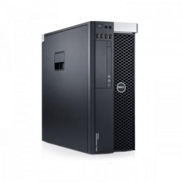 Workstation Second Hand DELL Precision T3600 Intel Xeon Quad Core E5-1620 3.60GHz-3.80 GHz 10MB Cache, 64 GB DDR3 ECC, SSD 240GB SATA + SSD 240GB SATA, Placa Video Nvidia Quadro K5000 4GB/GDDR5/256biti  Workstation