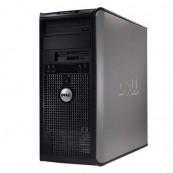 Calculator DELL GX755, Tower, Intel Core 2 Quad Q6600, 2.40 GHz, 4 GB DDR2, 250GB SATA, DVD-RW Calculatoare Second Hand