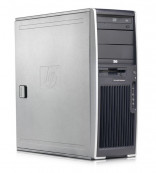 Hp xw4600 Workstation, Core 2 Duo E8400, 3.0Ghz, 4Gb RAM, 500Gb, DVD-RW, nVidia FX370 256MB, 64bit