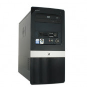 Calculator HP Compaq DX2400 MiniTower, Intel Core 2 Duo E6400, 2.13 GHz, 2 GB DDR2, 80GB SATA, DVD-RW