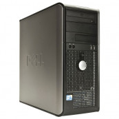 Dell Optiplex GX760, Intel Dual Core E6700 3.2Ghz, 4Gb DDR2, 80Gb HDD, DVD-ROM Calculatoare Second Hand
