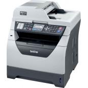 Imprimanta Multifunctionala Brother MFC-8380DN, 30 PPM, 1200 x 1200 DPI , Duplex, Retea, A4, Monocrom + Cartus Nou 8K Imprimante Second Hand