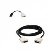 Adaptor cablu DisplayPort to DVI + cablu DVI to DVI