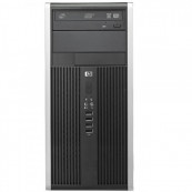 Calculator HP 6300 Pro MT, Intel Pentium Dual Core G640, 2.80GHz, 4GB DDR3, 200GB SATA, DVD-ROM Calculatoare Second Hand