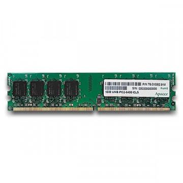 2Gb Memorie RAM DDR2 PC6400, 800Mhz