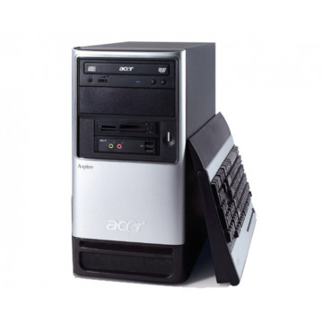 Acer Aspire t120, AMD Athlon 2800+, 512mb, 40gb HDD, CD-ROM, Firewire 1394 Calculatoare Second Hand