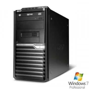 Acer M670G, Core 2 Quad Q8300, 2.5Ghz, 4Gb DDR3, 250Gb HDD, DVD-RW + Win 7 Pro Calculatoare Second Hand
