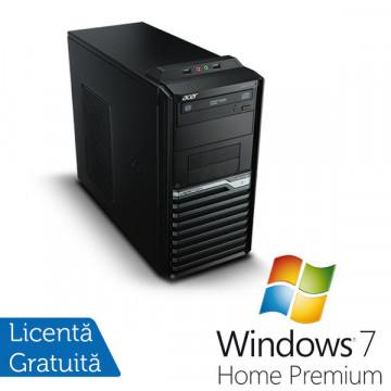Acer Veriton M421G Tower, AMD Athlon II X2 3.0 Ghz, 2Gb DDR2, 250Gb, DVD-ROM + Windows 7 Home Premium Calculatoare Refurbished