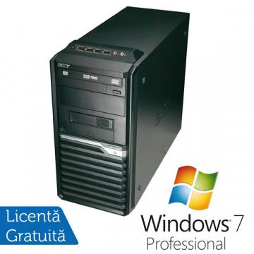 Acer Veriton M490G, Intel Core i5-650  3.2Ghz, 4Gb DDR3, 320Gb SATA II, DVD-RW + Windows 7 Professional Calculatoare Refurbished