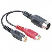Adaptor Audio HAMA 5 Pin DIN M Componente & Accesorii