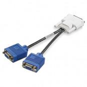 Adaptor cablu video DMS-59 la 2 x VGA Componente Calculator