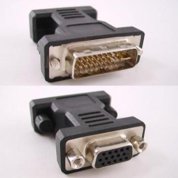 Adaptor DVI-VGA, Plug and play