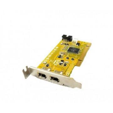 Adaptor PCI FireWire IEEE-1394A, low profile bracket Componente Calculator