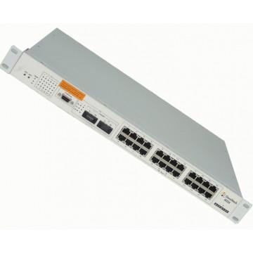 Alcatel OmniStack OS-4024G, 24 x10/100 BaseT,  2 x 1000BaseFX  Retelistica