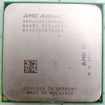 AMD Athlon 4000+ 64 x2, Dual core, 2100Mhz, Socket AM2
