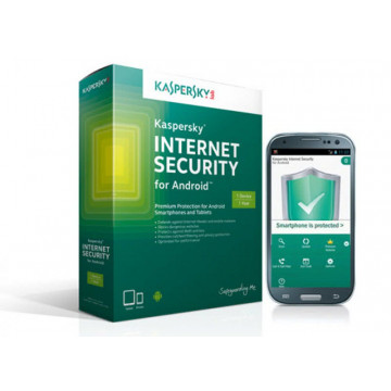Antivirus Kaspersky Internet Security for Android - Home User Software