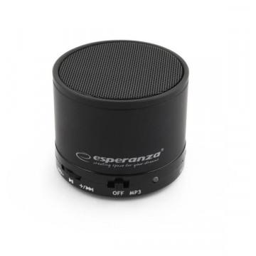 Boxa portabila Bluetooth Esperanza Ritmo EP115 Black