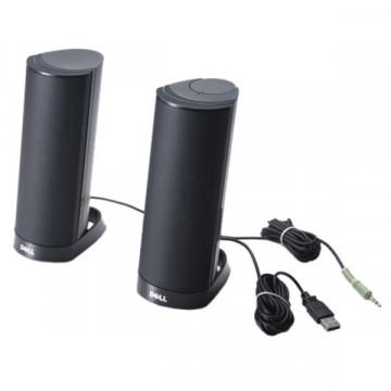 Boxe Stereo Dell AX210CR, Negru, Interfata USB