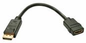 Cablu adaptor DisplayPort la HDMI Componente & Accesorii