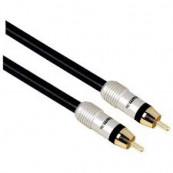 Cablu audio RCA, Jack 3.5mm HAMA - 1.5 m