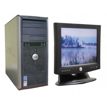 Calculatoare Dell GX520, Pentium D820 Dual Core, 2.8Ghz, 2Gb, 80Gb + Monitor 15 inci