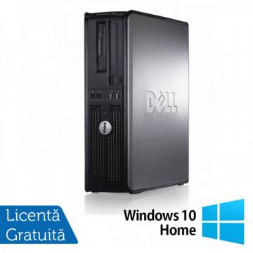 Calculatoare Dell Optiplex GX760 SFF, Intel Core 2 Duo E8400, 3.0Ghz, 4Gb DDR2, 160Gb SATA, DVD-RW + Windows 10 Home Calculatoare Refurbished
