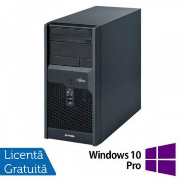 Calculatoare Fujitsu P3521, Intel Core 2 Quad Q6600, 2.40GHz, 4Gb DDR3, 320Gb SATA, DVD-RW + Windows 10 Pro Calculatoare Refurbished
