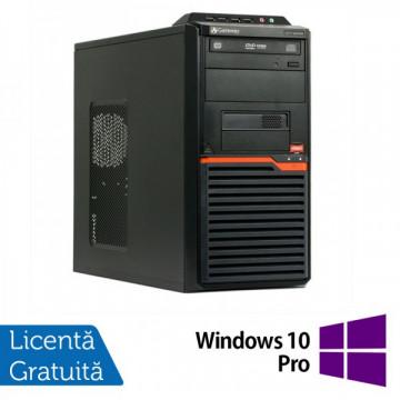 Calculatoare Gateway DT55, AMD Athlon II X2 250  3.0 Ghz, 4Gb DDR3, 320Gb, DVD-RW + Windows 10 Pro Calculatoare Refurbished