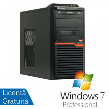 Calculatoare Gateway DT55, AMD Athlon II X2 250  3.0 Ghz, 4Gb DDR3, 320Gb, DVD-RW + Windows 7 Professional