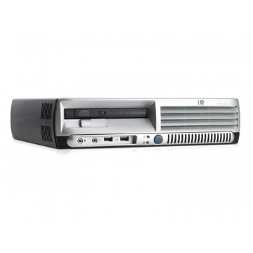 Calculatoare HP DC7600 USFF Pentium 4, 3.0GHz, 1Gb DDR2, 80Gb Sata, DVD-ROM Calculatoare Second Hand