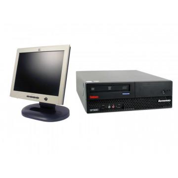Calculatoare IBM M57 9482, Pentium Dual Core E2180, 1Gb, 80Gb + Monitoare LCD 15 inci