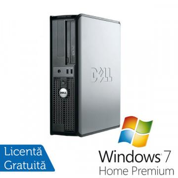 Calculatoare Refurbished Dell OptiPlex 320 Desktop, Pentium 4 3.0 GHZ, 2Gb DDR2, 80Gb HDD, DVD-RW + Win 7 Premium, Garantie 3 Ani Calculatoare Refurbished