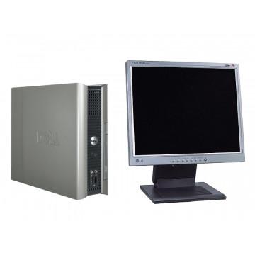 Calculatoare SH Dell SX745, Celeron D 3.06Ghz, 1Gb, 40Gb + LCD SH 17 inci, Diverse modele
