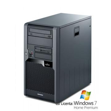 Calculatoare SH Fujitsu P3520, Dual Core E3200, 2.4Ghz, 2Gb DDR2, 160Gb, DVD-RW + Win 7 Home Calculatoare Second Hand