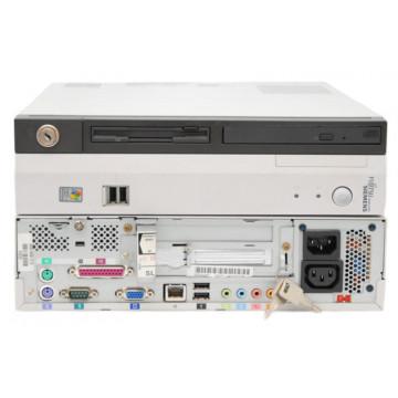 Calculatoare Sh Fujitsu Scenic C600, Intel Pentium 4, 2.4Ghz, 512Mb, 80Gb HDD Calculatoare Second Hand