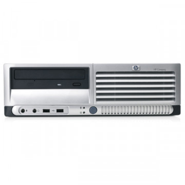 Calculatoare SH  HP DC 7700 SFF, Intel Pentium Dual Core, 2.8Ghz, 1Gb DDR2, 80Gb, DVD-ROM Calculatoare Second Hand