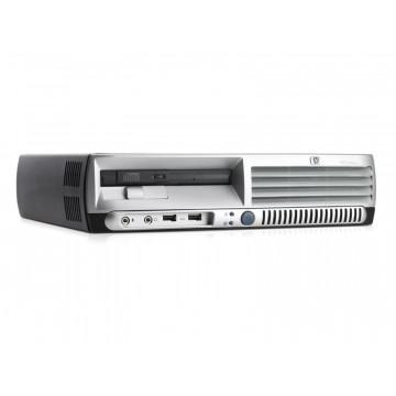 Calculatoare Sh HP DC7600 USFF Pentium 4, 2.8GHz, 1Gb DDR2, 80Gb Sata, CD-ROM Calculatoare Second Hand