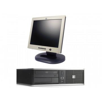 Calculatoare SH HP DC7800, Core 2 Duo E6550, 2.33Ghz, 1Gb, 80Gb + Monitor LCD 15 inci