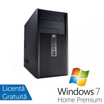 Calculatoare SH Hp DX2300, Pentium Dual Core E2160, 1.8Ghz, 1Gb DDR2, 160Gb, DVD-RW + Win 7 Premium Calculatoare Second Hand