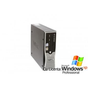 Calculatoare SH NEC PowerMate ML460 Pro, Core 2 Duo, 2.4Ghz, 1Gb, 80Gb Hdd + Win Xp Pro Calculatoare Second Hand