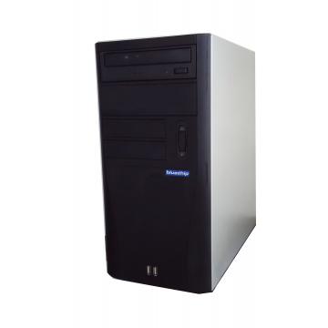 Calculator Bluechip, Intel Celeron E1400 2 Ghz, 3Gb DDR2, 250Gb, DVD-RW Calculatoare Second Hand
