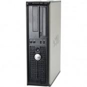 Calculator DELL GX380 SFF, Intel Dual Core E6700 3.20GHz, 4GB DDR3, 250GB SATA, Calculatoare Second Hand
