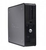 Calculator DELL GX780 SFF, Intel Pentium Dual Core E5400 2.70GHz, 4GB DDR3, 160GB SATA, DVD-RW