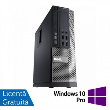 Calculator DELL OptiPlex 3010, SFF, Intel Core i5-3450, 3.10 GHz, 4 GB DDR3, 250GB SATA, DVD-RW + Windows 10 Pro